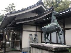 小松の多太神社の神馬