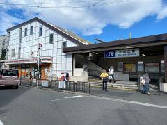 JR京都線に乗って、千里丘駅へ移動
