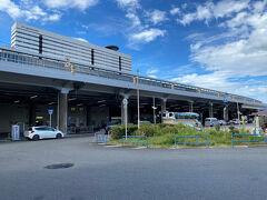 食後、徒歩で新大阪駅まで移動します。
