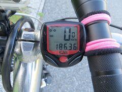 18:00 本日はここまでです。 本日の走行距離:106.9km