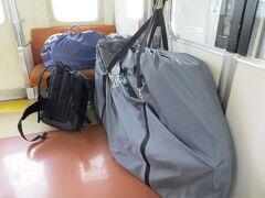 14:13 金山駅で勝川駅行きに乗り換えます。