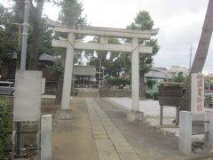 東へ進んで成宗須賀神社です