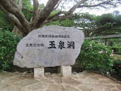 11:45 まず天然記念物「玉泉洞」に入ります。