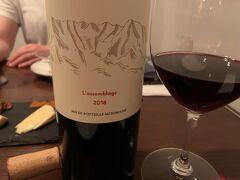 カーブドッチに行く前に新潟のワインバーへ カーブドッチのワイン(海の近く)を飲むなら比較するためと、胎内市(山の中)のワインを出してくれました