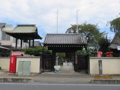こちらが慈眼寺  その名の通り目の仏さまとして、目に悩みを持つ方が訪れます