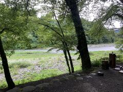 保養所に到着しました。多摩川沿いにある保養所なので、多摩川を眺めながらBBQができます。