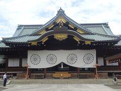 靖国神社(拝殿)明治34年、建立