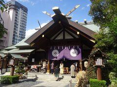 東京大神宮(本社)(若い女性が非常に多く参拝していました。)