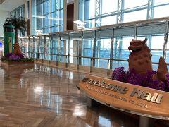 チェックインと荷物を預けて空港内を散策  お土産などを見て周りましたが、 1番品揃えが良いのは空港だなと確信。 スーパーにしかないものも一部あるかな?という印象。