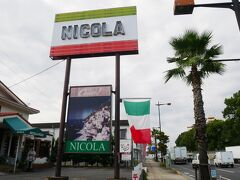 ビザ&イタリアンのニコラ 今日はやって無し