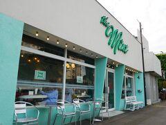 ミントモーテル、アメリカンな 洒落た感じのカフェ まだ開店して数年のよう