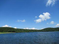 女神湖は本当に水がきれい。