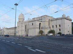 <ジェロニモス修道院>  世界遺産「ジェロニモス修道院」 後でゆっくり観るので今は外見だけ。