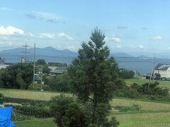午前中の京都市内の訪問を終えて、リモート会議しながら湖西線で移動ちぅ(^_^;)