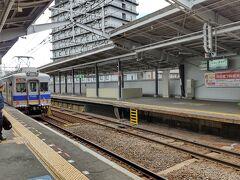 南海電車で関空ヘ 大阪南部の代表的風情のおじさま(めちゃ私見)と良い景色。