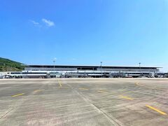 広島空港に着きました。 レンタカーでさっそくしまなみ海道に向かいます。