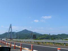 生口橋。  去年息子と遊びに行った生口島だ。