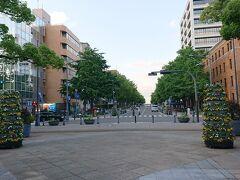 日本大通り。