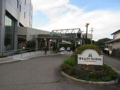 今日宿泊予定の富士急電鉄・富士山駅近くの「富士山ステーションホテル」に荷物をお願いしました。