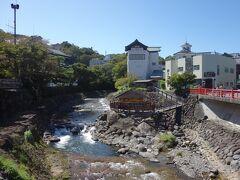 独鈷の湯(とっこのゆ)桂川河畔に湧く修善寺温泉発祥の湯