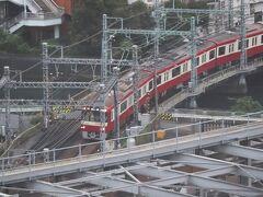 京浜急行。