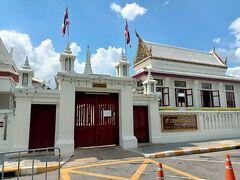 王宮横にある「市の柱」は入場不可