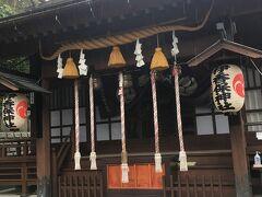 伊香保神社まで上がって来ました。 温泉と医療の神を祀っているそう。