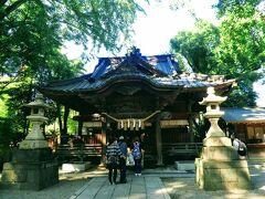 すぐそばには田無神社。