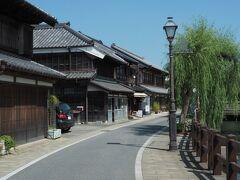 散策再開。 小野川沿いを北上します。