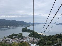 帰りのリフトでは正面にこの景色なので、天橋立観光のハイライト☆