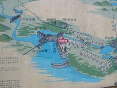 羽村取水堰は、多摩川から玉川上水へと上水を流し込むための堰を形成しています。  羽村取水堰には、第1水門と第2水門があります。流量を小修整する小吐水門もあります。