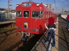 太田川駅から普通列車に乗り換えて坂部駅で下車しました。この駅からお遍路に向かいます。