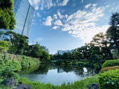 日比谷公園を散策。 心字池。
