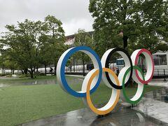 <日本オリンピックミュージアム> ぐるーーーーーっと、回ったので遠かった。