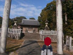 県道を進み、名鉄阿久比駅近くの阿久比神社に立ち寄りました。現在の阿久比町は海には接していませんが、かつてはこの辺りが海岸線だったそうです。