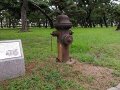そこから浜寺公園までは結構遠かったです。 旧国名でいう和泉は意外と大きく、突破に苦労します。 浜寺公園は旧米軍キャンプだったようで、当時の消火栓と町割りが残っています。