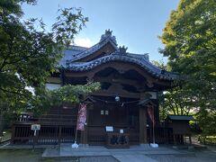 本丸跡に建てられた懐古神社。