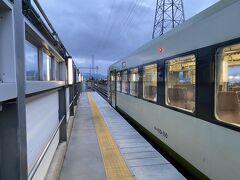 15分ほどで佐久平駅に到着。