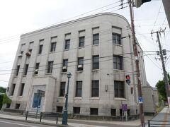 旧第一銀行 小樽支店。 銀行多いな…。