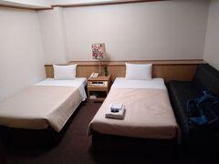 今宵の宿 サンプラザホテルにチェックイン 凄く久し振りの宿です。