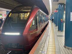 大阪難波駅到着!!ゴージャスな気分で下車。