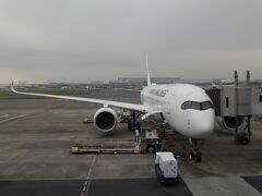 飛び石での休日に有給休暇を付けて、これから北海道に行きます。 7:30 JAL503便 A350に初めての搭乗です。 個人用モニターのプログラムも豊富です。席はほぼ満席で結構埋まっています。 1年ぶりの北海道が楽しみですが、天気だけが心配です。
