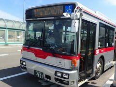 ANAのセールで羽田‐函館往復18,580円のチケットを購入。 8/28(土) 東京(羽田)(09:55) - 函館(11:15)のフライトで函館へ行きました。先ずはオンラインで市電・函館バス共通2日乗車券1,700円を購入し空港からバスに乗ります。