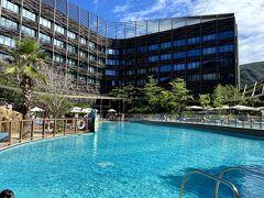 夏の締めくくりは8月のOcean Marriott ホテルの旅! オーシャンパークに併設されていることから、さすがに子どもだらけで 優雅なステイというわけにはいかず・・^^;;