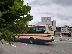 ★12:15 予定より1本早いバスに乗れたお陰で、1時間以上早く会津若松に到着~