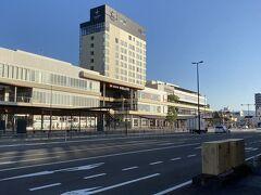 朝7:00の和歌山市駅