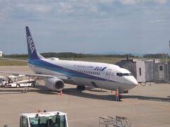 全日空で伊丹から新潟空港へ到着。 海外へ行くつもりでマイレージポイントを結構ためたが、コロナ禍で使える目途が立たないので、今回利用した次第。