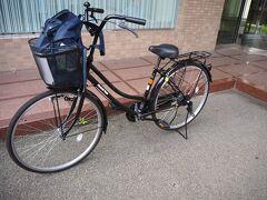 <ホテルアルファーワン会津若松> 無事、自転車をかりこれから出発です! 予約は出来ず、早い者勝ち。観光案内所で自転車の貸し出しもあるけど9:00-17:00まで。 私が借りたい時間に対応していなかったので借りることができて良かった。