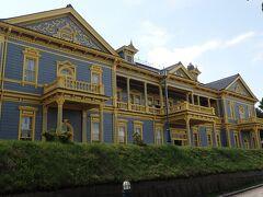 旧函館区公会堂 とてもきれい 日本じゃないみたい。1910年建造には見えないですね。入館料300円