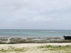 宮里海岸に行ってみたけど、まだまだそんなに台風という荒れ具合ではありません
